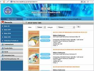 Buku Sekolah Elektronik Menarik Bagi Banyak Negara