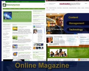 Merancang dan Membangun Majalah Online