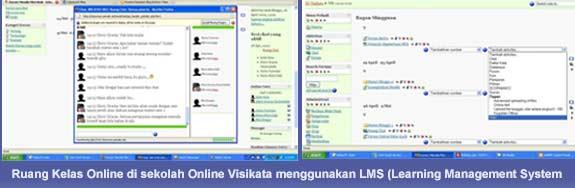 Sebuah Ruang Kelas Online di Sekolah Online Visikata