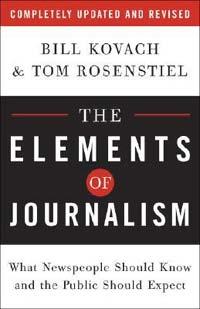 Sepuluh Elemen Jurnalisme dari Bill Kovach dan Tom Rosenstiel