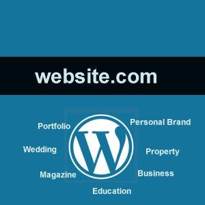 Website Berbasis WordPress Dengan Domain Sendiri